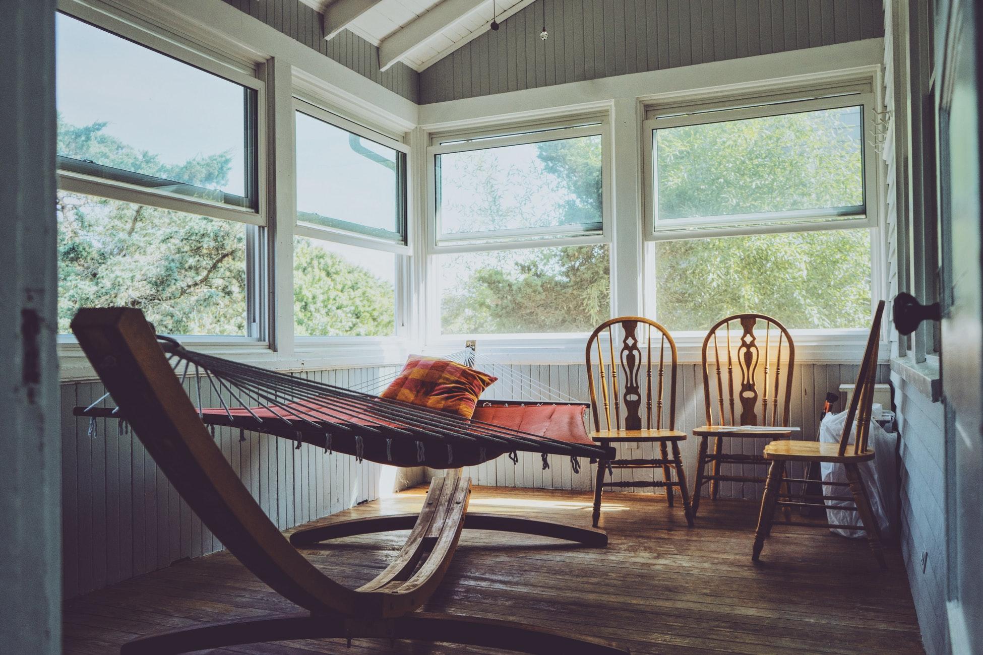 Hangmat Voor Op Balkon.Een Hangmat Voor In Huis Huis Met Tuin