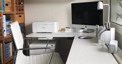Printer in werkkamer